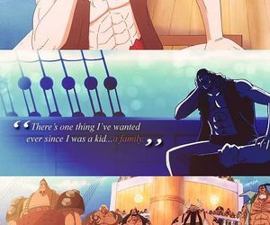 one piece, anime, and family image