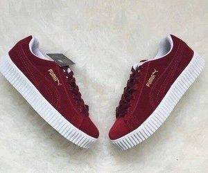 puma, shoes, and red image