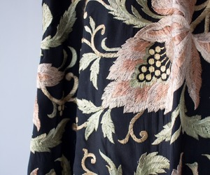 fabric, floral, and pattern image