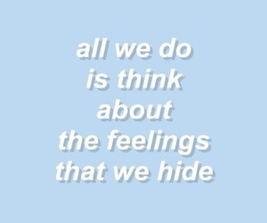 blue, quotes, and aesthetic image
