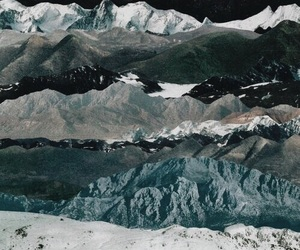 mountains, theme, and blue image