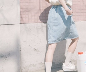 pastel, aesthetic, and girl image