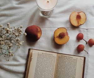 book, peach, and indie image