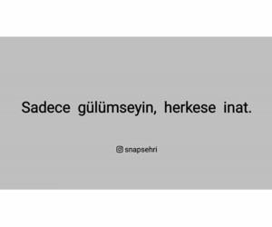 türkçe sözleri, turkish word, and إقتباسات تركية image