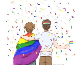 rainbow and skam image