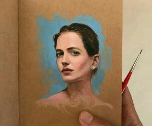 art, portrait, and beautiful image
