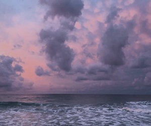 beach, pink, and aesthetic image