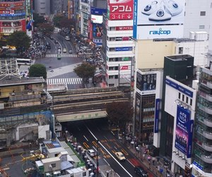 japan, asia, and shibuya image