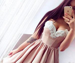 evening dress and cute homecoming dress image