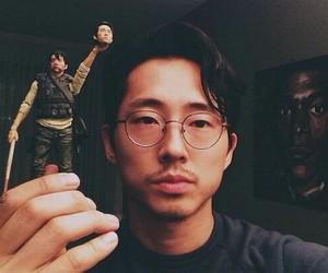 the walking dead, glenn, and steven yeun image