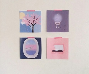 pastel, aesthetic, and art image
