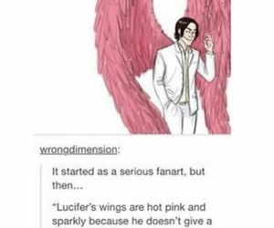 actor, angel, and hilarious image