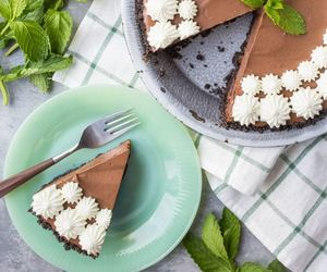 chocolate, desserts, and pie image