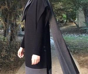elegance, hijab, and stylish image