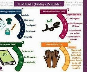 friday, sunnah, and jummah image