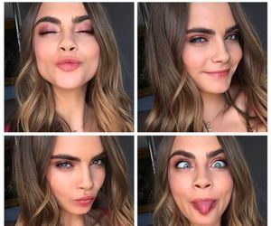 beauty, girls, and cara delevingne image