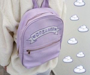 purple, pastel, and grunge image