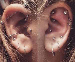 piercing, accessories, and moda image
