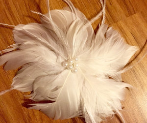 etsy, something new, and bridal hair clip image