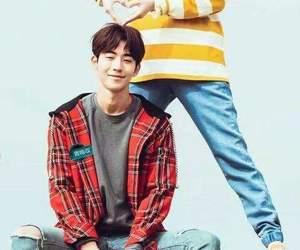 jung joon hyung, lee sung kyung, and nam joo hyuk image