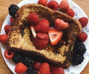 food, berries, and yummy image