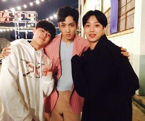 pentagon, wooseok, and seonho image