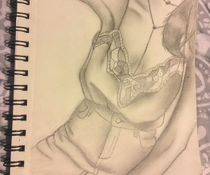 draw, pencil, and sketch image