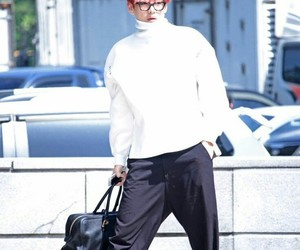 boy, redhair, and kpop image