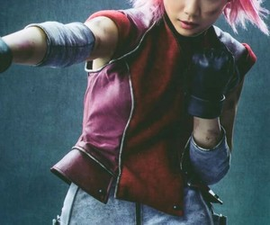 sakura haruno, akatsuki no shirabe, and naruto live in action image