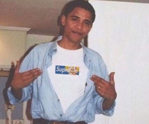 obama, supreme, and president image