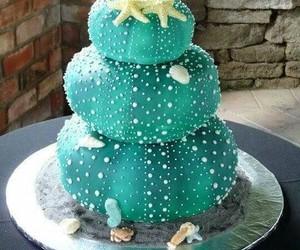 cake, Cookies, and sea image