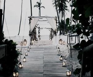 wedding and beach image