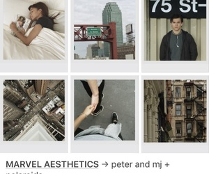aesthetic, Marvel, and mj image