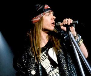 axl rose, Guns N Roses, and rock image