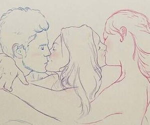 bi, pride, and bisexuality image