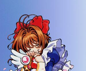 anime, card captor sakura, and wallpaper image