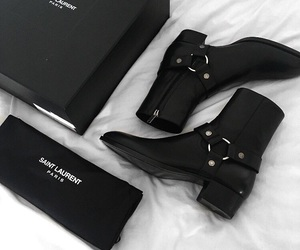shoes and saint laurent image