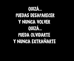 frase, volver, and nunca image