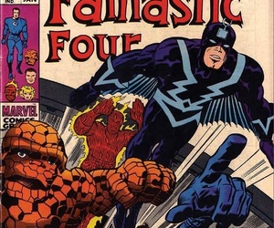 captain america, Fantastic Four, and Jack Kirby image