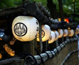 japan, lantern, and photography image