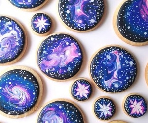 galaxy, food, and sweet image