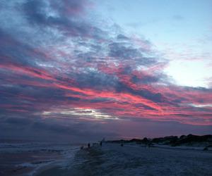 sky, beach, and nature image