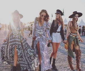 fashion, coachella, and festival image