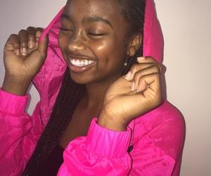 black, black girl, and black people image