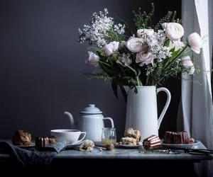 cozy, desserts, and english tea image
