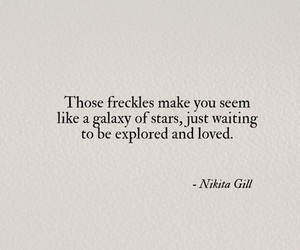 freckles and quotes image