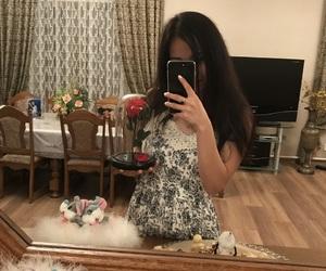 girl, luxury, and present image