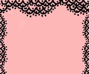 black, pink, and wallpaper image