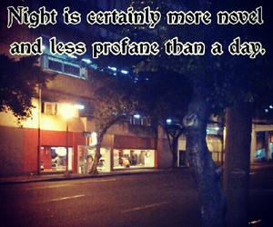 night, novel, and quote image