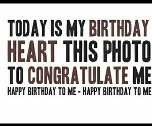 birthday, happy, and heart image